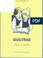 Quiltras - Arelis Uribe