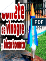 Cohete de Vinagre y Bicarbonato