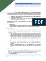 Prosedur Estimasi Interval Untuk Varian Dengan Tingkat Keyakinan 95