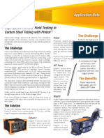 Application Note High Speed Remote Field Testing in Carbon Steel Tubing Wit