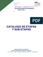 2. Guía No 4 - Catálogo de Etapas y Sub-Etapas