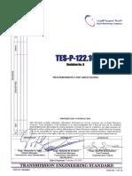 TES P 122 10 R0 Transmission Lines Grounding