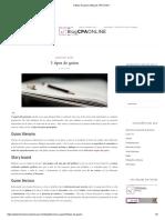 3 Tipos de Guion _ Blog de CPA Online