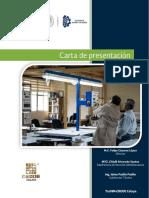 Carta de Presentación TecNM-CRODE Celaya 2018