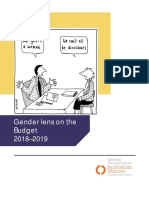NFAW Gender Lens on the Australian Budget