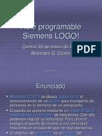 Rele programable Logo siemens.ppt