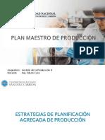 Plan Maestro de Produccion