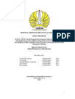 SI MAS ANOM (Mesin Pengolah Dan Pengemas Jamu Sari Sinom) Dengan Teknologi Termocoolersonifikasi Berbasis Microcontroller Dalam Rangka Mewujudkan Produk Unggulan Asean Economic Community Di Desa Sruni Kabu