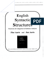 English Syntactic Structures