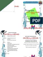 Buku Program Majlis Aku Janji Tahun 6 2018