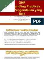 Presentation Good Hygiene Practice