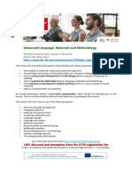 Advanced Language, Materials and Methodology_new