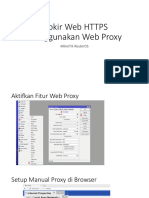 Blokir Web HTTPS Menggunakan Web Proxy