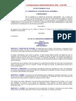 Ley de Lo Contencioso Administrativo 2005 04 19