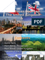 Differences Between the United Kingdom and the Philippines