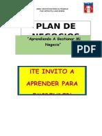 Plan Negocio Feria 2018