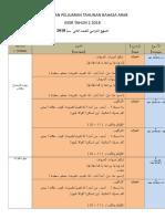 RPT_BAHASA_ARAB_TAHUN_2_KEGUNAAN_2018[1]