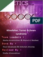 01-Klinefelter, Turner & Down Syndrome 3(1st Edition)