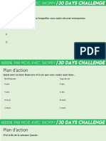 Plan d'action - DAY 1