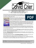 Oct 2005 Corvid Crier Newsletter Eastside Audubon Society