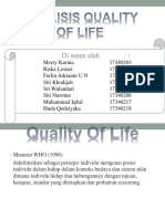 Analisa Quality of Life PPT