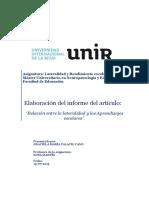INFORME CIENTÍFICO Lateralidad