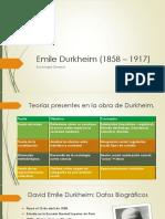Emile Durkheim Anual