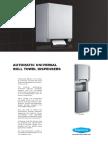 Auto Roll Towel Dispenser-En