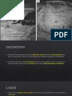 Sedimentary Environment
