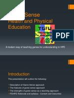 game sense presentation