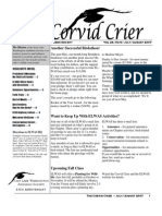 July-Aug 2007 Corvid Crier Newsletter Eastside Audubon Society
