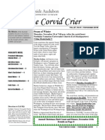 Nov 2008 Corvid Crier Newsletter Eastside Audubon Society