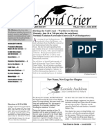 June 2008 Corvid Crier Newsletter Eastside Audubon Society