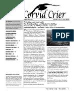 May 2008 Corvid Crier Newsletter Eastside Audubon Society