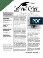 Mar 2008 Corvid Crier Newsletter Eastside Audubon Society