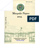 Military Spending and Economic Growth in Pakistan, Margalla-Papers-2015 - Copy