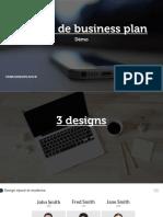 Modèle de Business Plan – Dossier d'Investissement Complet Démo 1