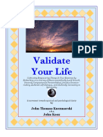 Validate Your Life