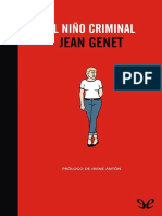 Genet Jean - El Ni§o Criminal