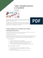 Cadena de Valor (Texto Para CANVAS)
