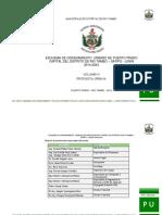 Propuesta Urbana Final distrito Rio Tambo - Satipo - Junin