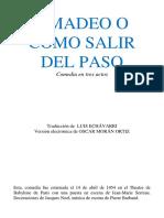 Ionesco Eugene - Amadeo O Como Salir Del Paso.pdf