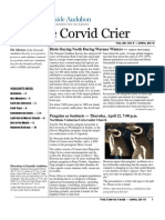 Apr 2010 Corvid Crier Newsletter Eastside Audubon Society