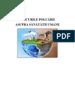 Riscurile Poluarii Asupra Sanatatii Umane- Calin Madalina -Elena
