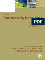 Food Security and MDG