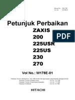 003zaxis 200 - Petunjuk Perbaikan