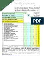 Three Test Training Evaluation Tool