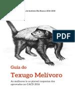 CACD - Guia de Estudos Texugo Melivoro (2016)