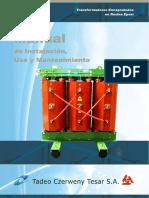 FTT0044 Rev 3 TCZ TESAR Manual de Instalacion Uso y Mantenimiento