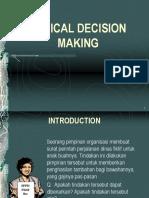 Etika Bisnis Dan Profesi -  Ethical Decision Making